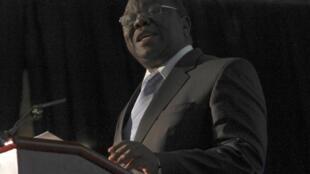 Prime Minister Morgan Tsvangirai in Harare in March