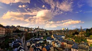 Vue générale de Luxembourg.