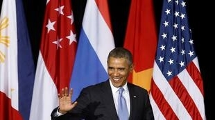 Le président Barack Obama, à Kuala Lumpur, le 27 avril 2014.