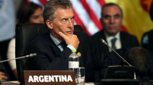 Mauricio Macri recorreu ao Fundo Monetário Internacional, medida que não foi bem vista pelos argentinos