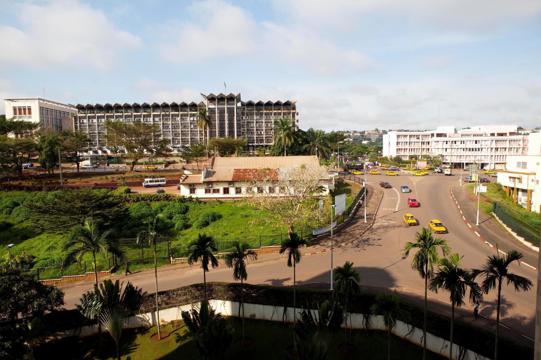 Katikati ya mji wa Yaoundé, mji mkuu wa Cameroon.