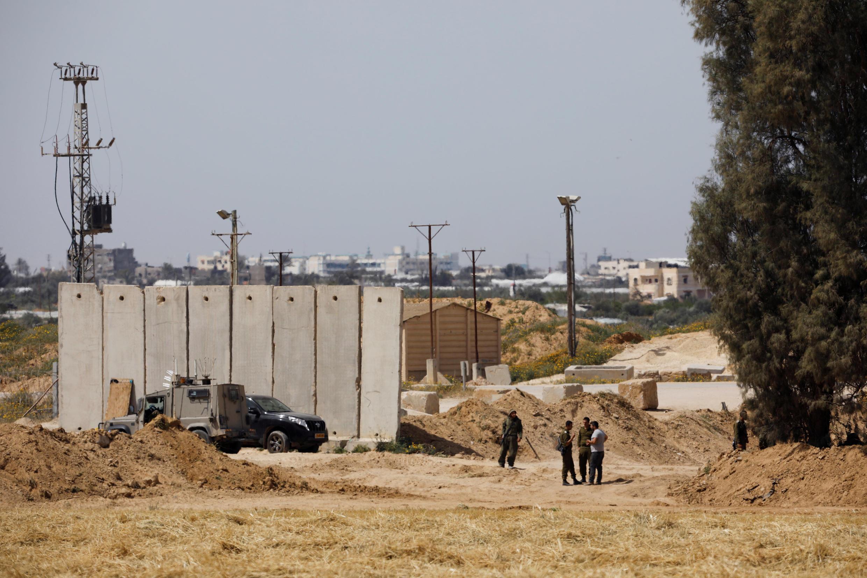 """اسرائیلیها مشغول """"ایمن سازی""""قسمتی از مرز نوار غزه هستند"""