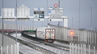 Le tunnel sous la Manche entre le Royaume-Uni et la France