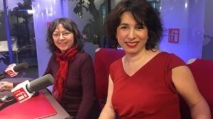 As cantoras e compositoras Verioca e Aurélie
