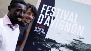 Dieudonné Niangouna et Stanislas Nordey.