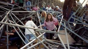 В Фуриани в 1992 году произошла трагедия на стадионе, погибли 18 человек