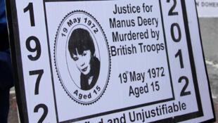 Este ano marca os 40 anos do Domingo Sangrento, em que 14 separatistas irlandeses foram mortos pelo Exército britânico.