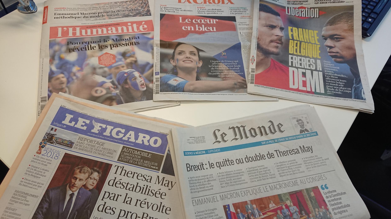 Diários franceses 10.07.2018