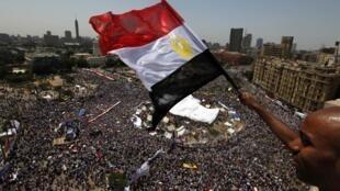 Une foule immense s'était à nouveau rassemblée au Caire, ce vendredi 8 juillet 2011.