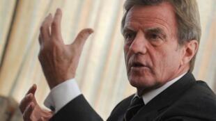 Le ministre français des Affaires étrangères Bernard Kouchner.