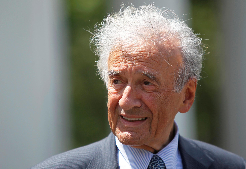 Elie Wiesel le 4 de mayo 2010 en Washington.