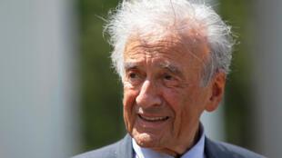 Elie Wiesel, el 4 de mayo de 2010 en Washington.