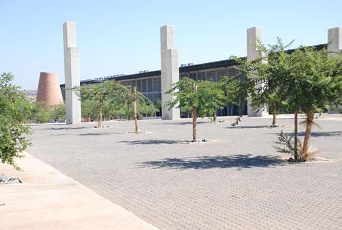 """La place """"Walter Sisulu square of Dedication"""" à Kliptown en Afrique du Sud."""
