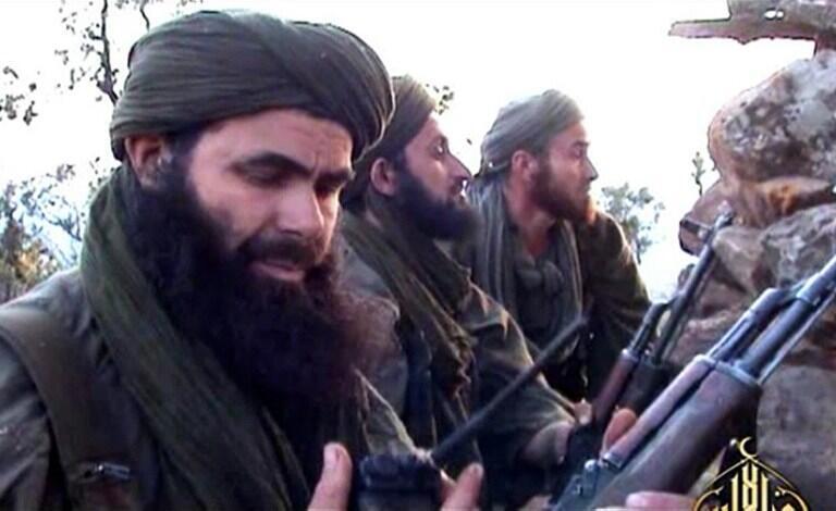 Abdel Malek Droukdel, alias Abou Moussab Abdelwadoud, numéro un d'al-Qaida au Maghreb islamique (Aqmi), le 24 mai 2012.