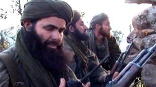Abdelmalek Droukdel, alias Abou Moussab Abdelwadoud, numéro un d'al-Qaida au Maghreb islamique (Aqmi) sur une photo non datée.
