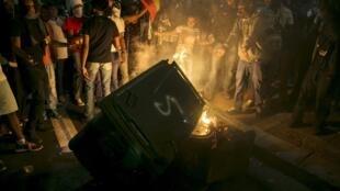 Violentas manifestações em Jerusalém e Tel Aviv depois da difusão de um vídeo que mostra dois policiais agredindo um soldado israelense de origem etíope.
