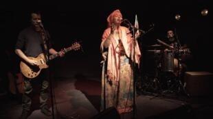 La chanteuse Somalilandaise, Sahra Halgan.