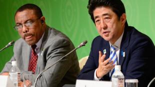 Lors de la précedente édition du TICAD au Japon, en juin 2013. Cette année, pour la première fois, la conférence aura lieu sur le continent africain.