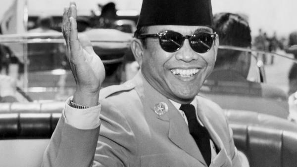 Sukarno en 1956.