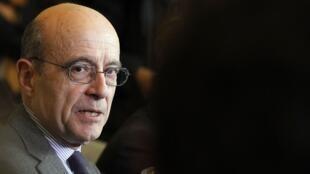 L'ancien ministre français des Affaires étrangères Alain Juppé.