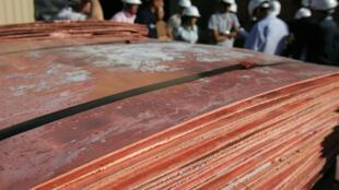 En Chine, 10 à 30 % des cours et des primes de livraison de tous les métaux de base, dont le cuivre, ont baissé.