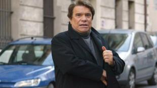 Bernard Tapie arrivant au Tribunal de grande instance de Marseille, le 15 janvier 2008.
