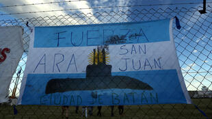 La angustiosa espera de los familiares de los tripulantes del submarino Ara San Juan.