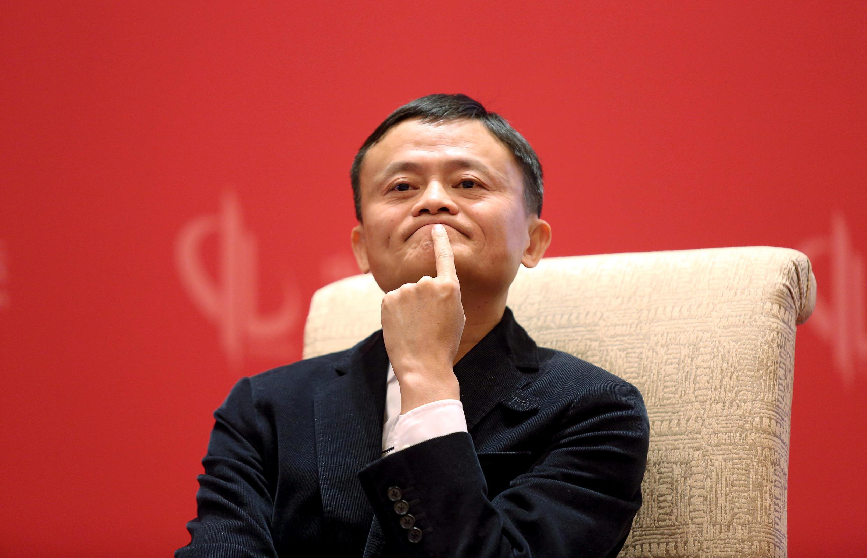 圖為阿里巴巴董事局主席馬雲