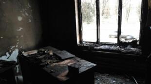 В Назрани сгорел офис «Мемориала». Правозащитники заявили о поджоге