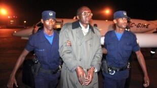 Léon Mugesera a été extradé à Kigali le 24 janvier 2012.