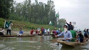 On the Jhelum river in Kashmir