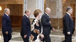 Встреча в Минске, 26 августа 2014 г.