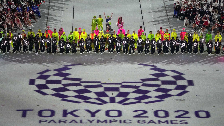 Lễ bế mạc Paralympic Tokyo 2020 tối 05/09/2021 tại Sân vận động Quốc gia ở Tokyo, Nhật Bản.