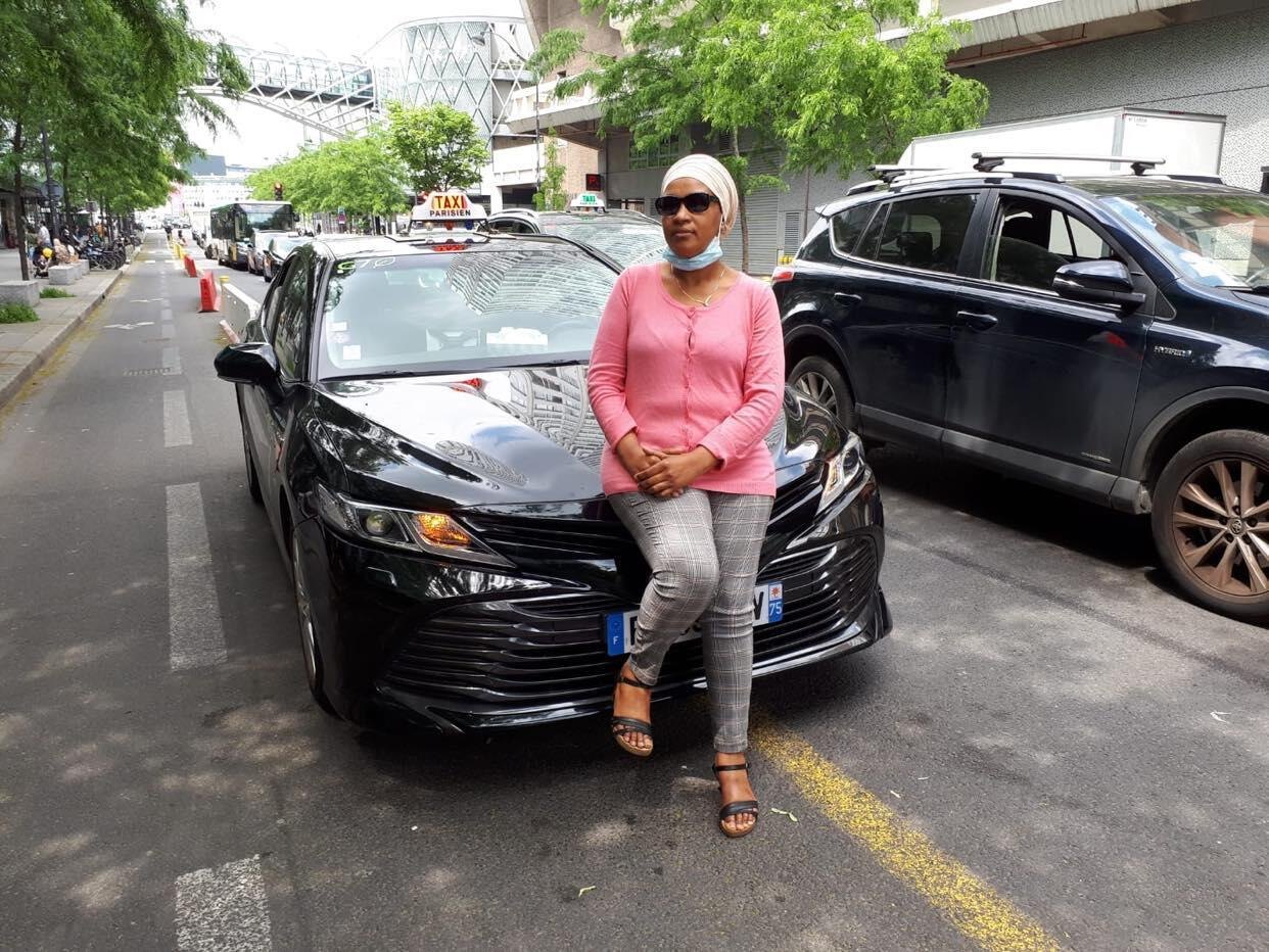 Mariyama BA Taxiwoman Paris