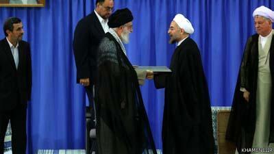 Raisi Mpya wa Iran Hassan Rohan ambaye anachukua nafasi ya Ahmed Nejad,sherehe za kuapishwa kufanyika jumapiliی