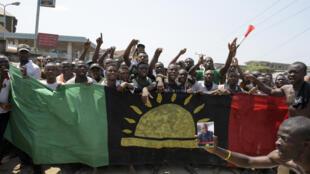 Masu fafutikar kafa kasar Biafra na barazana a Najeriya