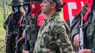 Wasu daga cikin 'yan tawayen ELN na Colombia