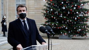 Emmanuel Macron Dec 2020