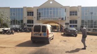 L'hôpital de la paix de Ziguinchor, où viennent les ressortissants de Guinée Bissau, de Guinée ou de Gambie pour des consultations ou des opérations.