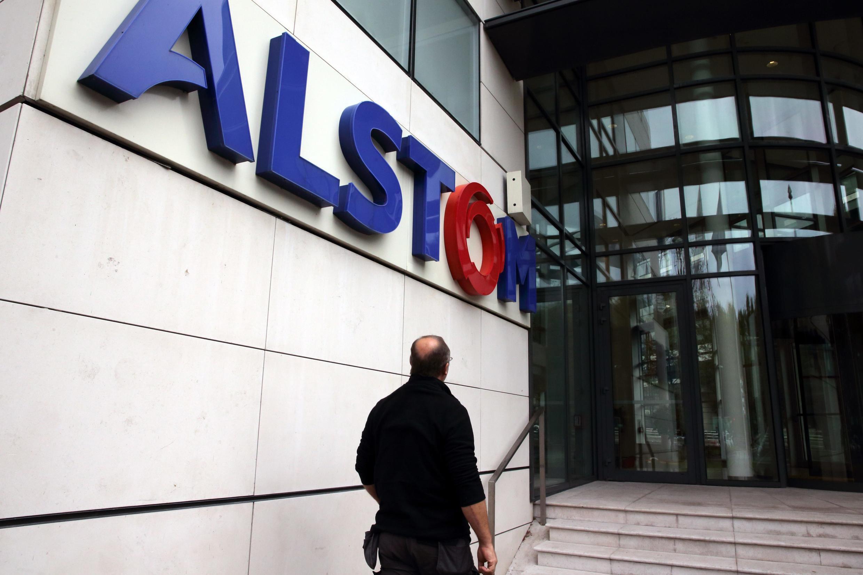 Главный офис концерна Alstom в парижском пригороде Левалуа-Перре (Levallois-Perret)