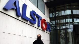 Le siège d'Alstom à Levallois-Perret, en banlieue parisienne.
