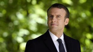 O presidente eleito Emmanuel Macron precisa da maioria na assembleia para governar