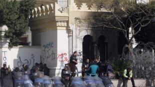 Palácio presidencial egípcio estava sob forte proteção policial neste sábado.