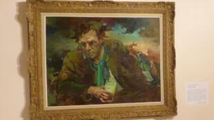 « Le buveur d'absinthe », autoportrait par Jean d'Esparbès