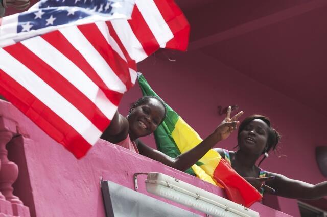 Le Sénégal avait reçu la visite de Barack Obama le 26 juin 2013.