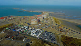 Sur le chantier du terminal méthanier de Dunkerque, on comptait près de 60% de salariés détachés en novembre.