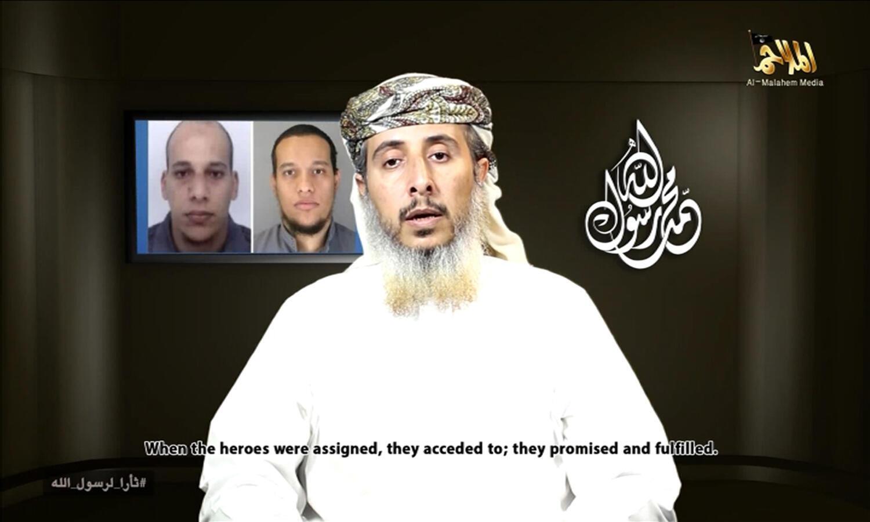 Nasser bin Ali al-Ansi, một thủ lĩnh nhánh Yemen của al Qaeda. DR