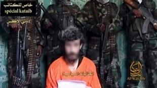 Денис Аллекс на видео сомалийских захватчиков (дата не уточняется)