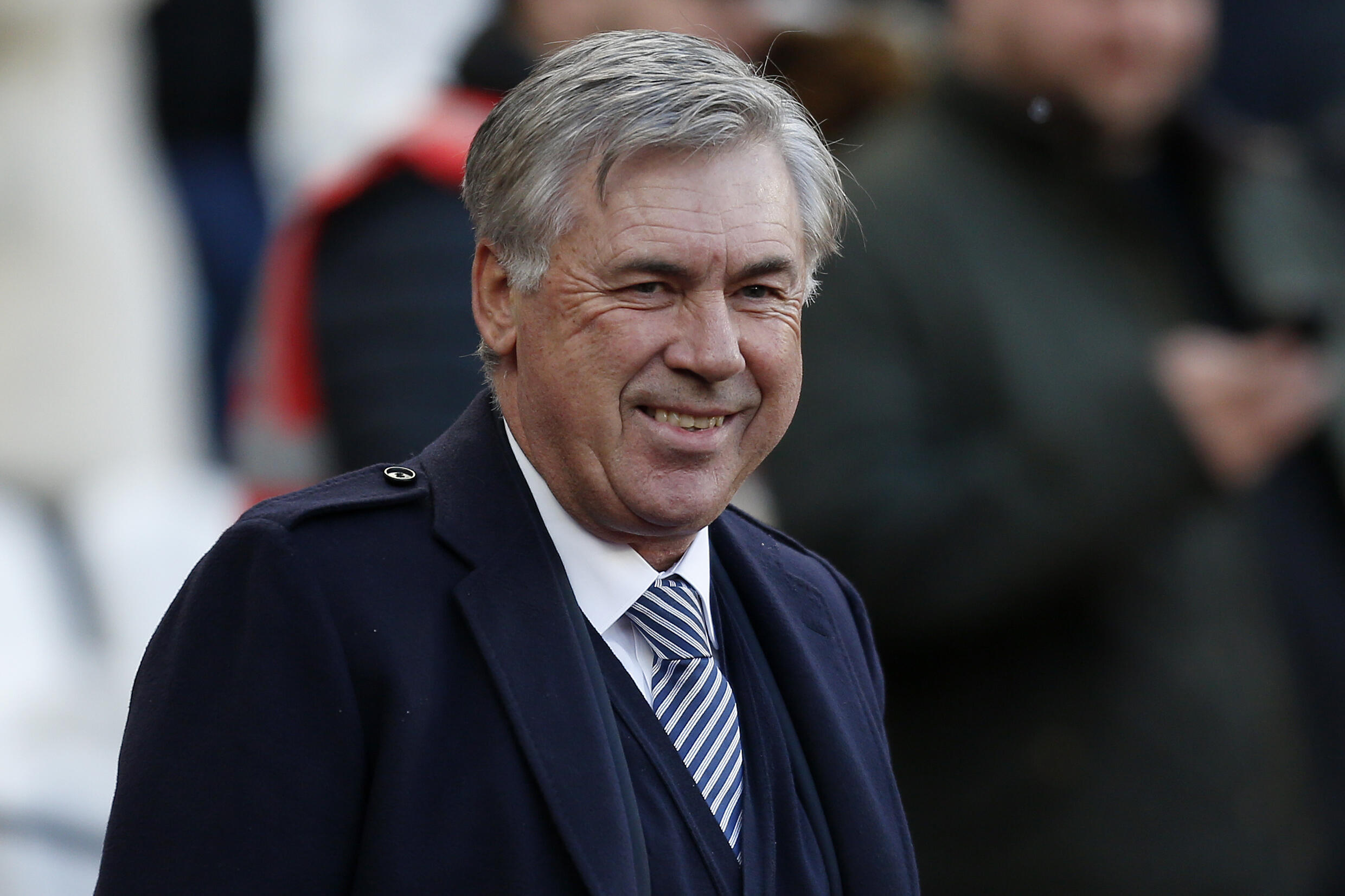 Everton manager Carlo Ancelotti has joined the club's campaign to help the vulnerable