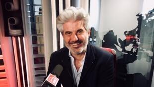 L'écrivain français Laurent Gaudé en studio à RFI.